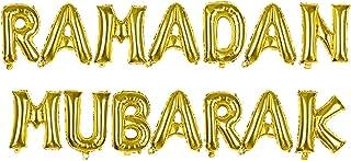 Party Tableware Ramadan Kareem Decoration Eid Mubarak Banner Balloons Tableware Set Ramadan Mubarak Muslim Islamic Party D...