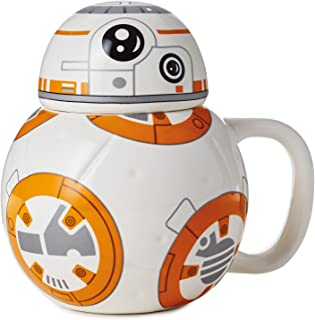 Hallmark Star Wars BB-8 Mug with Sound, 10 oz. Mugs & Teacups Sci-Fi; Movies & TV