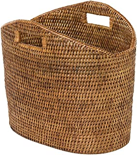 Kouboo 1060135 Storage Basket, Honey Brown