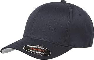 Original Flexfit Wooly Cotton Twill Cap 6277, Stretch Fit Baseball Cap w/Hat Liner