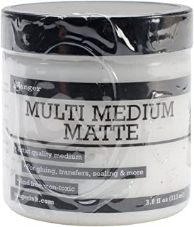 Ranger Multi Medium - Gel acrílico multiusos (tarro de 113 ml, acabado mate)