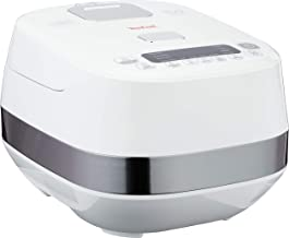 Tefal Induction Fuzzy Logic Rice Cooker, White, 1.5L, (RK808A)
