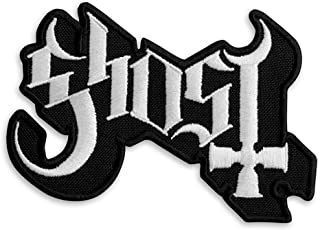 Ghost BC Logo Heavy Metal Doom Hard Rock Band Embroidered Patch Iron On (3.8