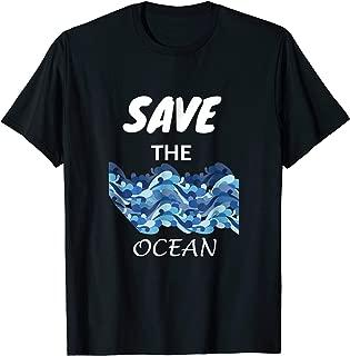 Save The Ocean Tshirt - Ocean Conservation