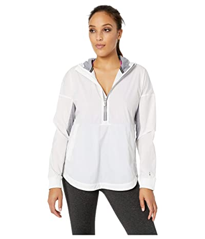 Smartwool Merino Sport Ultra Light Anorak Pullover (White) Women