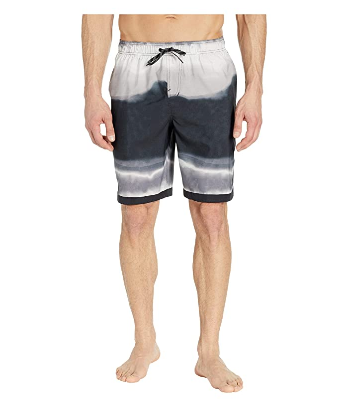 Nike 9 Optic Halo Horizon Volley Shorts (Black) Men