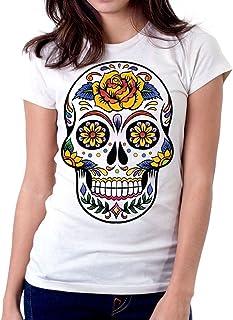 Shirt Teschio Donna Shirt itT Amazon Amazon Teschio itT Shirt Donna Amazon itT Ygy6bf7