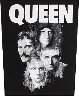 Queen Faces Back Patch Black