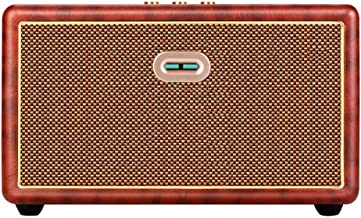 JHKJ Retro Bluetooth Speaker and Radio Old Fashioned Classic Style Portable Wooden Wireless USB Port/TF Card/MP3 Player Can Be Used for U Disk/MP3/CD Old-Fashioned