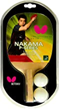 Butterfly Nakama P3 Japanese Penhold Table Tennis Racket | Nakama Series | Offers Tremendous Speed with Heavy Spin | Recom...