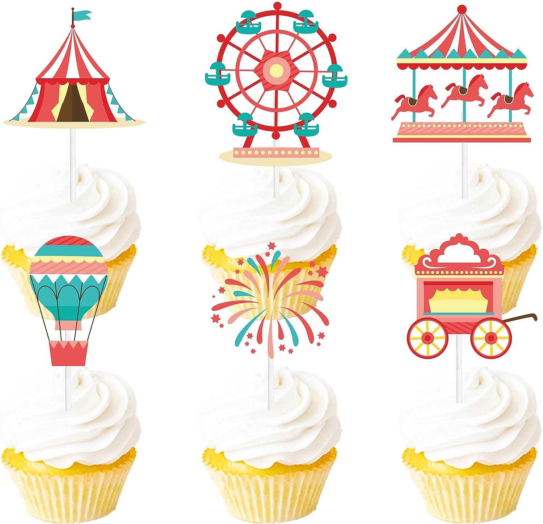 Circus Cupcake Picks