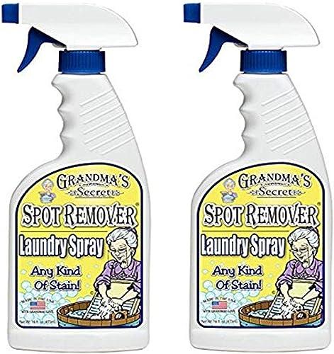 Grandma's Secret 7001 2 Pack Spot Remover Laundry Spray, 16 fl oz, 32