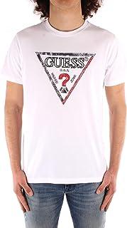 Guess T-Shirt uomo Triesley Logo triangolo Bianco ES21GU74 M1RI72K8FQ1