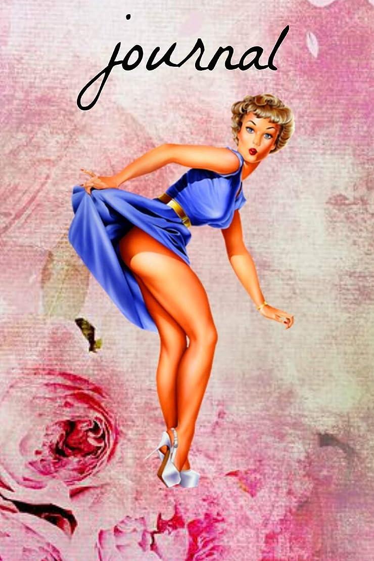 形成リマゴネリルJournal: Vintage Pin Up Pole Dancing Dancer Burlesque Book Notepad Notebook Composition and Journal Gratitude Diary