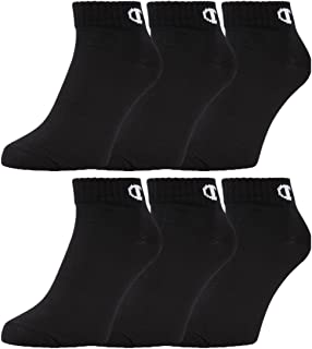 Champion Unisex 6pk Quarter Socken Socks