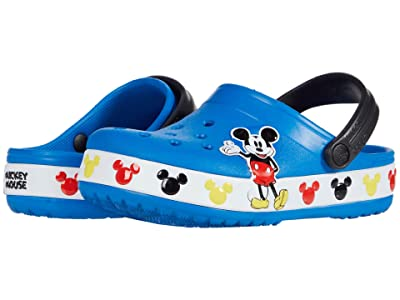 Crocs Kids Fun Lab Disney Mickey Mousetm Band Clog (Toddler/Little Kid) (Bright Cobalt) Boy