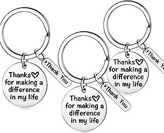 Teacher Appreciation Gift for Women Teacher Keychain Set Birthday Gift for Teacher Gifts from Students