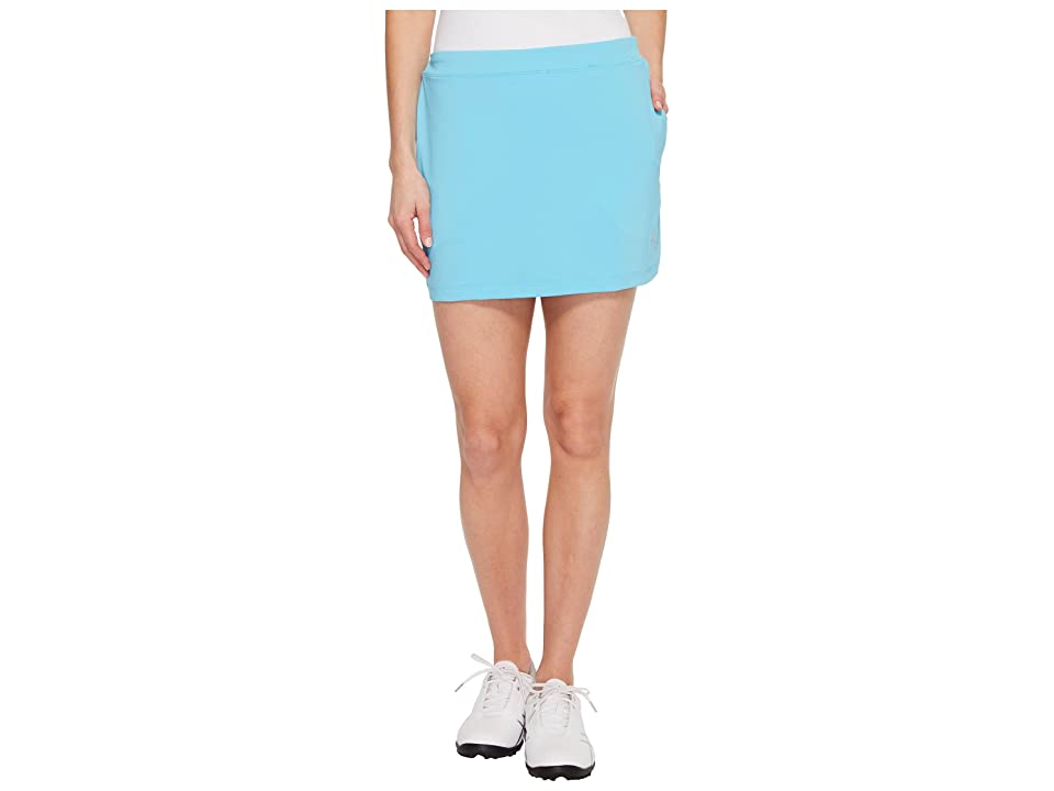 PUMA Golf Solid Knit Skirt (Blue Atoll) Women