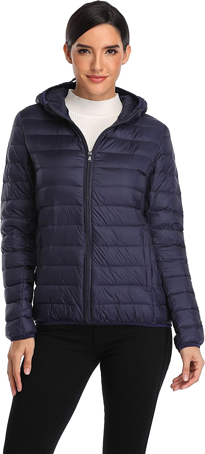 Old-to-new Women's Short Hooded Puffer Packab At the price of surprise Lightweight Jacket In a popularity