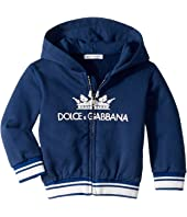 Dolce & Gabbana Kids - Crown Logo Hoodie (Infant)