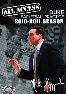 Championship Productions Mike Krzyzewski: All Access Duke Basketball Practice (2010-11) DVD