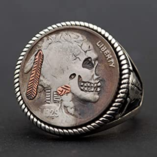 Hobo Nickel COLLECTIBLE 1937 Buffalo Nickel Zombie Two Face Costume