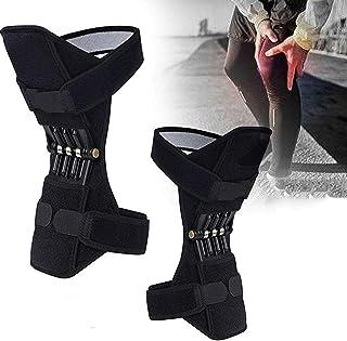 GBHJJ knäbooster, 1 par halkfri knäskydd knäskydd booster för sport klättring lindring smärta gammalt kallt ben för vandri...