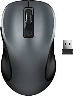 Wireless Mouse, RATEL 2.4G Wireless Ergonomic Mouse Computer Mouse Laptop Mouse USB Mouse 6 Buttons with Nano Receiver 3 A...