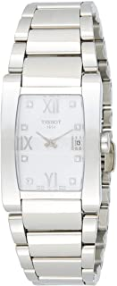 Tissot Women's Generosi-T's White Dial Color Steel Strap Watch - T007.309.11.116.00