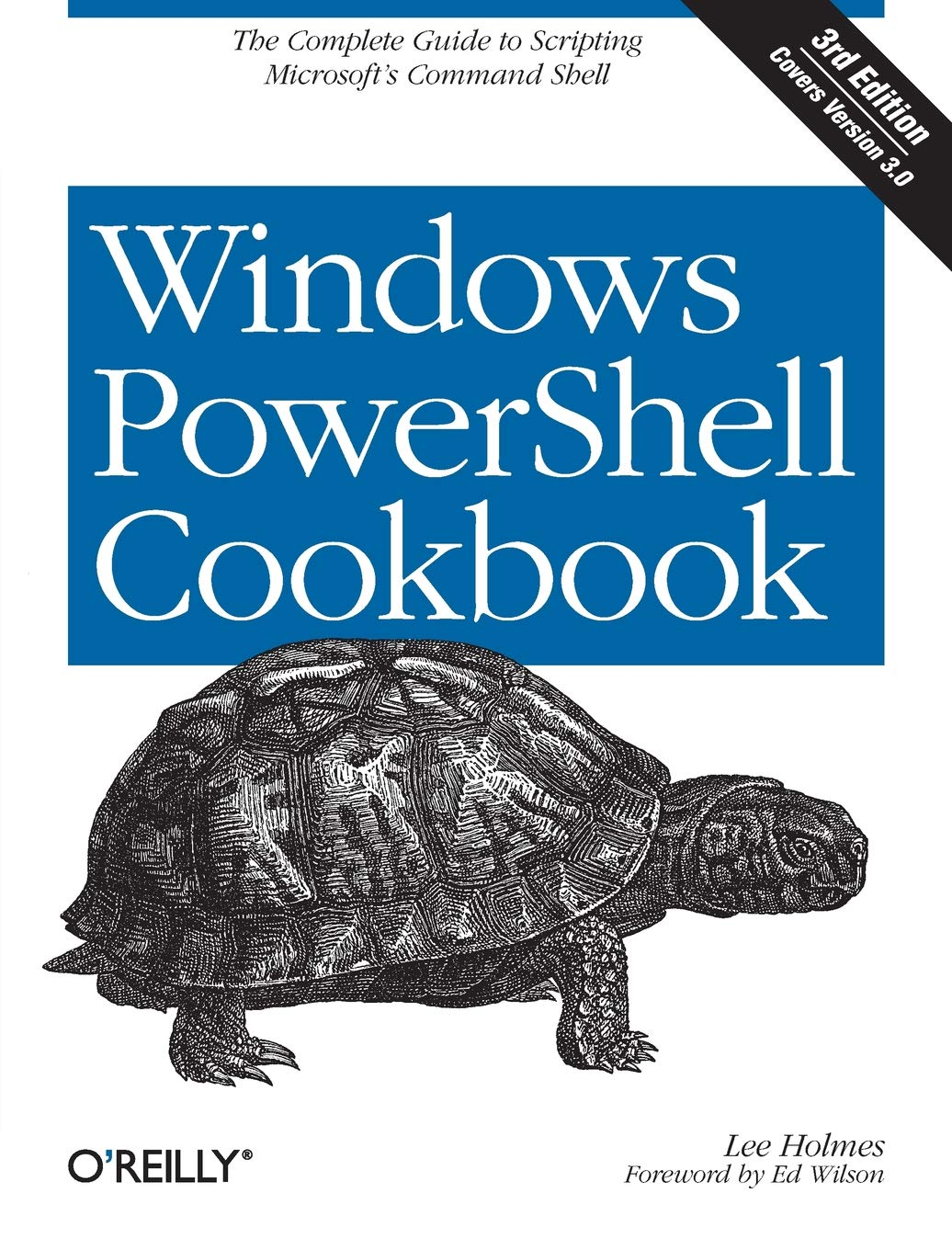 Image OfWindows PowerShell Cookbook 3e.