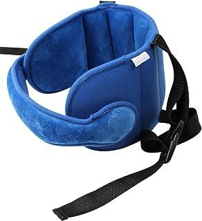 Gidenfly Autostoel hoofdsteun,Verstelbare peuter autostoel hoofd steunband, autostoel riemen Cover, Veiligheid autostoel n...
