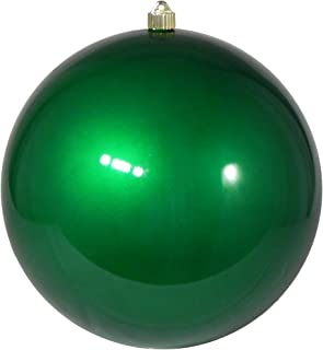 Christmas by Krebs Giant Commercial Shatterproof UV Resistant Plastic Christmas Ball Ornament Wedding Party Event Decor, 12