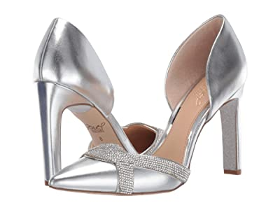 Jewel Badgley Mischka Sedona (Silver Metallic) Women