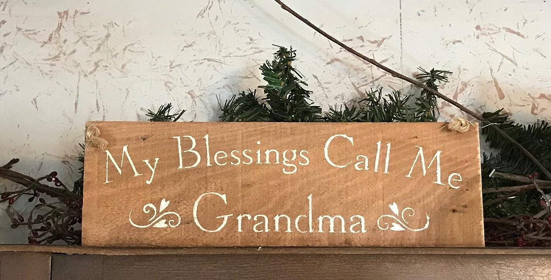 My Nippon regular agency Blessings Call Me Wood 2021 Sign Grandma