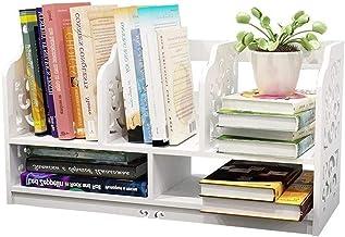 File Sorters Storage Office Supplies USB hub 2-Tier Desk Bookshelf Multi-Functional Book Rack for Student Storage Shelves ...