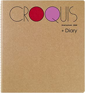 マルマン スケッチブック クロッキーダイアリー SQサイズ CD50