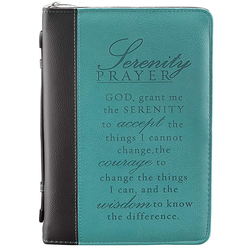 Serenity Prayer Two-tone Bible / Book Cover (Large)