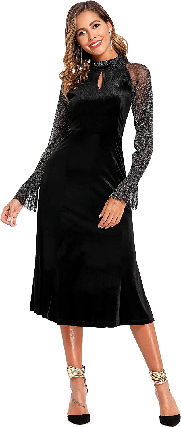 Velvet wholesale Formal Dress low-pricing Lace Gowns Glitter Splicing