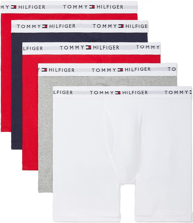 Tommy Hilfiger Men's Underwear Multipack Cotton Classics Boxer Briefs