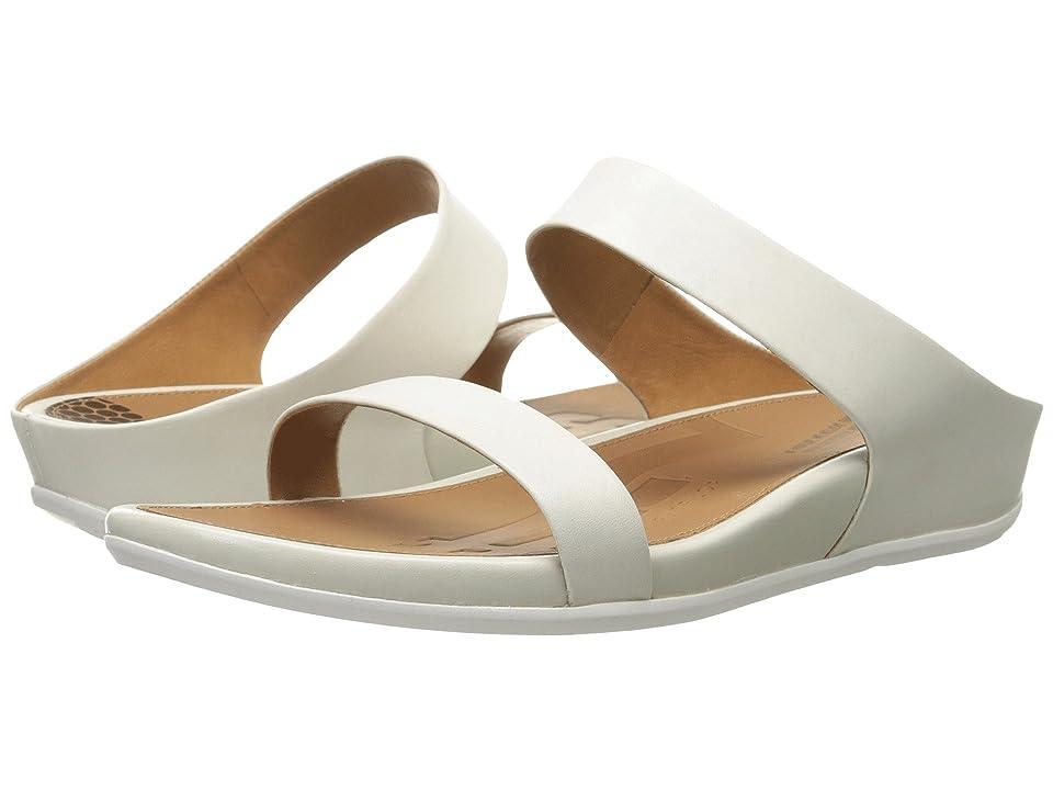 69704b9d7 FitFlop Banda Slide (Urban White) Women s Slide Shoes