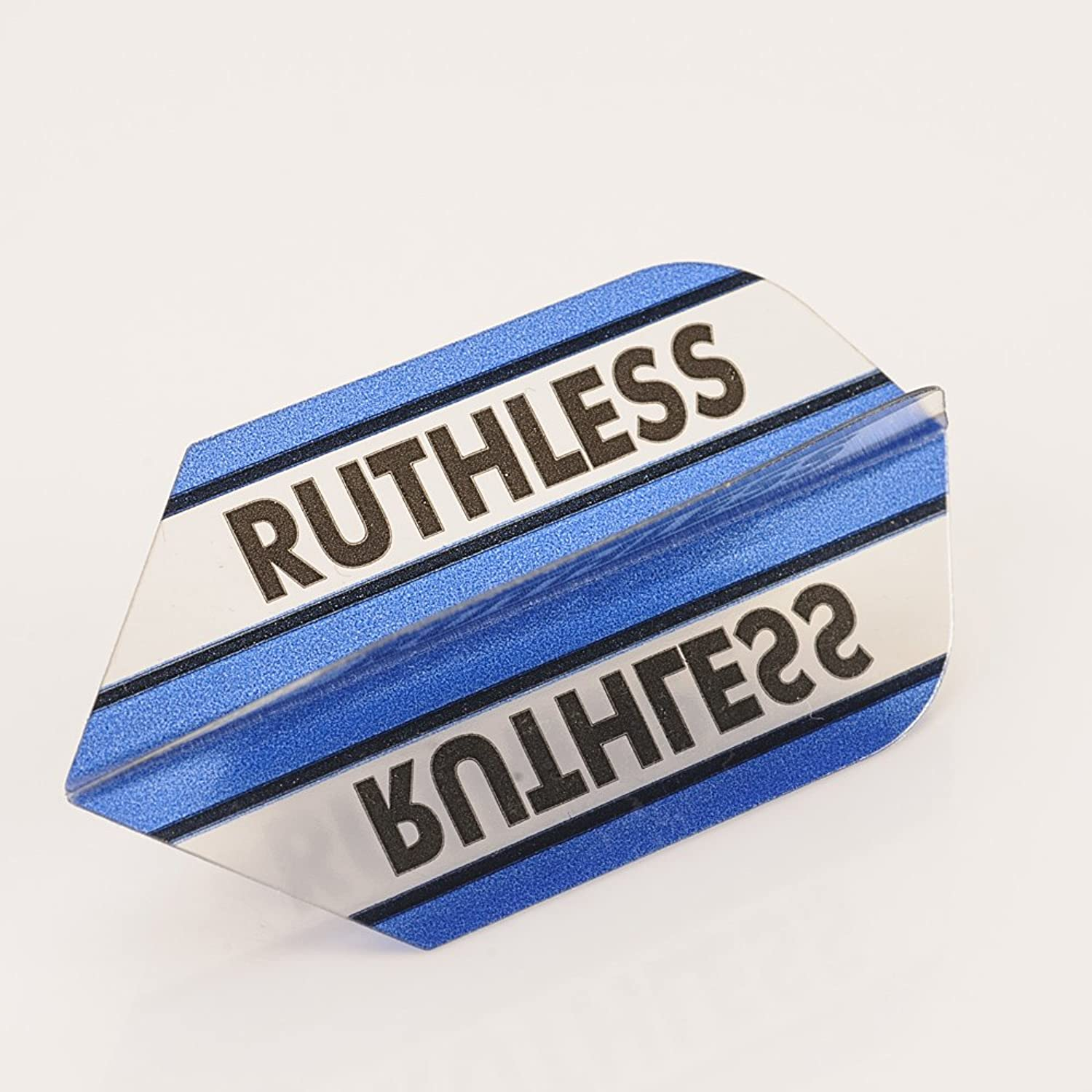 5 x Sets of Ruthless Clear Panels blueee Dart Flights, Extra T