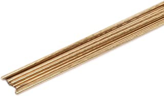 Forney 48300 Bare Brass Gas Brazing Rod, 3/32-Inch-by-18-Inch, 10-Rods