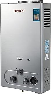 Moracle Calentador de Agua de Gas Licuado Calentador de Agua