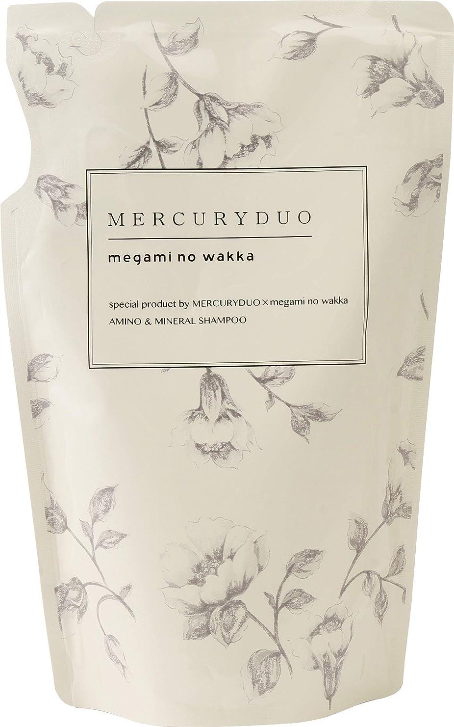 デンプシー適切な自宅でMERCURYDUO マーキュリーデュオ アミノ酸 シャンプー 詰替用420ml by megami no wakka (女神のわっか) ボタニカル フレグランスシャンプー