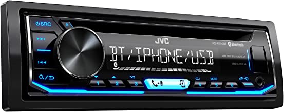 JVC KD-R790BT CD Receiver Featuring Bluetooth/USB/Pandora/iHeartRadio/Spotify/FLAC / 13-Band EQ (Certified Refurbished)