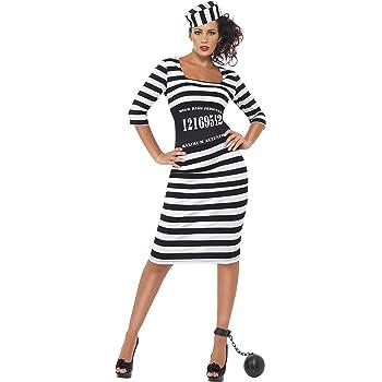 SmiffyS 22119M Disfraz De Presa Elegante Con Vestido Ceñidor De ...