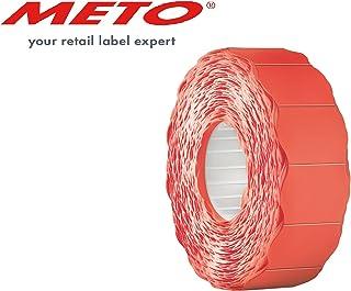 meto 9506169Precio de etiquetas o klebem arkierungen etiquetas, 26x 16mm, 6000unidades), ?uor Rojo Permanente, universal de transporte Interfaz