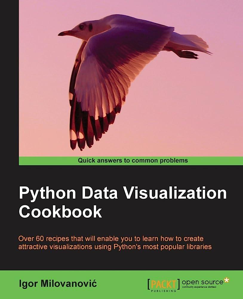 宝必要とする心からPython Data Visualization Cookbook: Over 60 Recipes That Will Enable You to Learn How to Create Attractive Visualization Using Python's Most Popular Libraries
