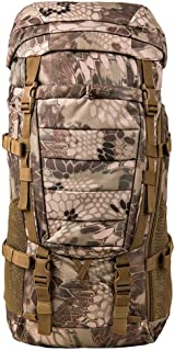 mochilas montaña 80L / hombres y mujeres de gran capacidad de espalda espalda al aire libre senderismo Mochila Bolsas de equipaje Mochilas de marcha ( Color : B , Tamaño : 80L-25*38*76cm )