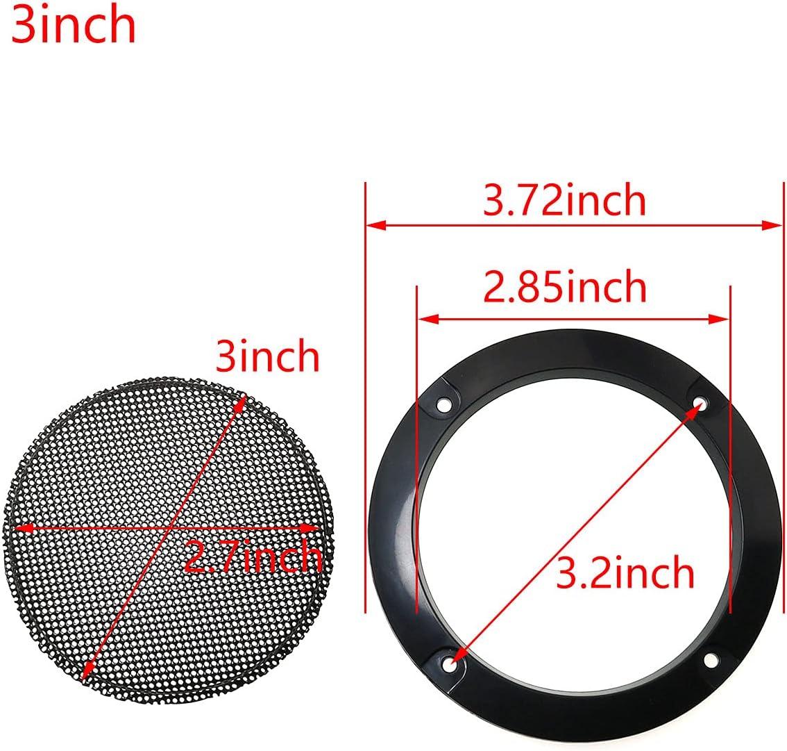 Speaker Grills Speaker Parts & Components ToToT 2pcs Cold Rolled ...